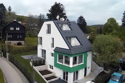 großzügiges Wohnhaus mit einem fantastischen Ausblick über Wien