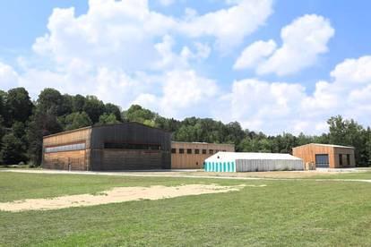 Moderne Produktions- und Lagerhallen