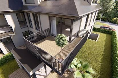 Großzügige NEUBAU-Wohnung mit großem Balkon!