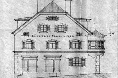 Historisches Wohn- und Geschäftshaus, mit viel Potential für Liebhaber des Besonderen! Zentrale Lage