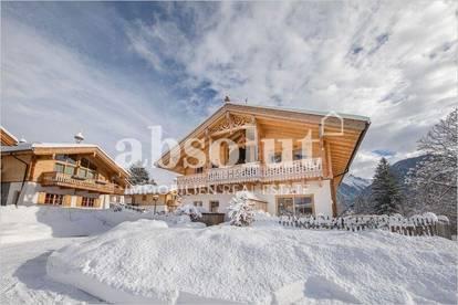 Haupthaus in Chaletdorf am Sonnenhang in wunderschöner ruhiger Lage, etwas ausserhalb von Neukirchen
