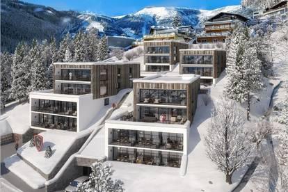 Luxus 3-Zimmer-Wohnungen mit privater Sauna in einzigartiger Lage von Zell am See! Investment Objekt