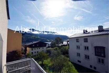 Sehr schöne, moderne Mietwohnung mit Seeblick in zentraler Lage in Zell/See. Ca. 94 m², 2 Sz, Balkon