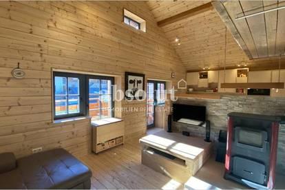 """Renoviertes Haus in rustikalem """"Hütten-Style"""" mit sep., neuwertiger Wohnung in Top Lage v. Kaprun"""