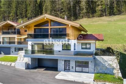 Luxuriöses Design-Chalet in schöner und ruhiger Lage m. traumhaften Panoramablick auf die Bergwelt!