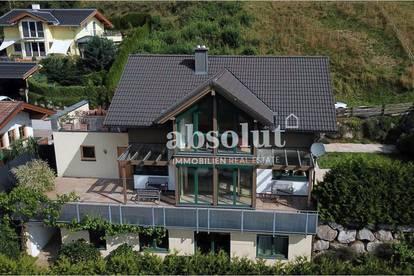 Hochwertig ausgestattetes Einfamilienhaus, in sonniger Hanglage mit Traumblick auf das Kitzsteinhorn