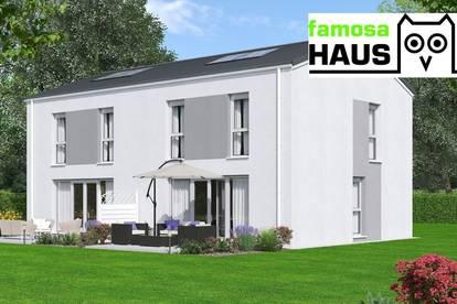 Sonnige Doppelhaushälfte mit Vollunterkellerung und Sonnengarten (Eigengrund). Provisionsfrei!