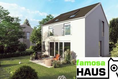 Provisionsfrei: ziegelmassives Einzelhaus mit 101m² Wohnfläche, Vollunterkellerung, Terrasse und Gartenoase samt 2 Parkplätzen