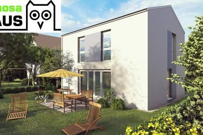 Vollunterkellertes Einzelhaus mit Terrasse, Eigengarten und 2 Parkplätzen. Provisionsfrei!