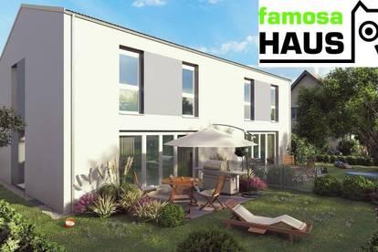 Provisionsfreie Doppelhaushälfte mit Vollunterkellerung und Eigengrund samt Terrasse und Parkplatz.