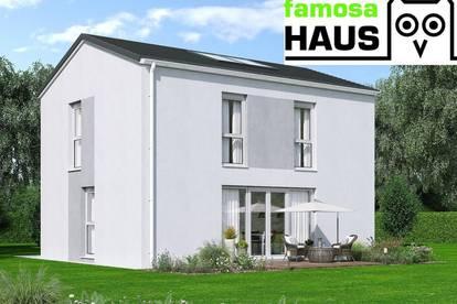 Geräumiges Einzelhaus: 101m² Wohnfläche, 54m² Keller, Terrasse und Eigengrund samt Parkplätzen. Provisionsfrei!