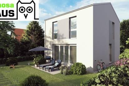 Ziegel-Massiv Einzelhaus, Vollunterkellert mit Sonnengarten und 2 Parkplätzen (Eigengrund). Provisionsfrei!