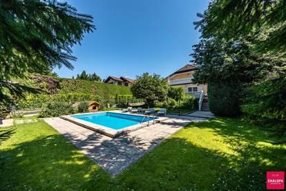 Provisionfrei für den Käufer - Klassisches Einfamilienhaus mit Pool im Grünen nahe Wien