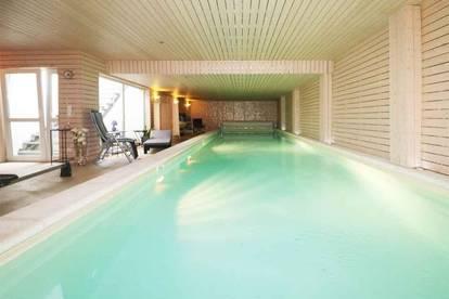 3 Wohneinheiten + Büro + Gäste + Innenpool + Sport