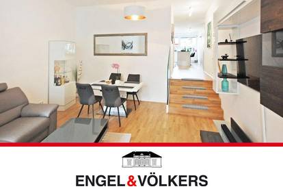 Genial geschnittene Wohnung mit Terrasse & Loggia