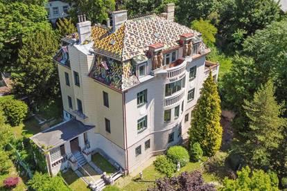 Denkmalgeschützte Art-Déco-Villa mit Fernblick