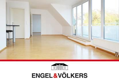 Helle 2-Zimmer-Terrassen-Wohnung mit Garage