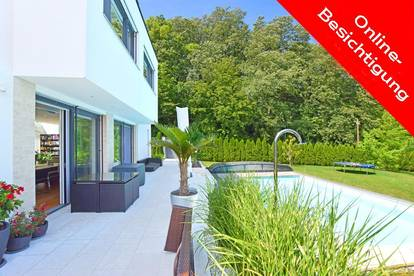360°-Tour! Moderne High-End-Villa in exklusiver Traumlage