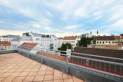 Attraktive DG-Wohnung mit Blick zum Rathaus