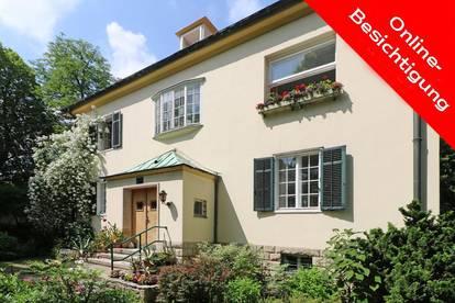 Zeitloses Villenjuwel im Cottage-Gartenparadies!
