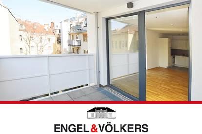 Moderne Zwei-Zimmer-Wohnung mit Balkon