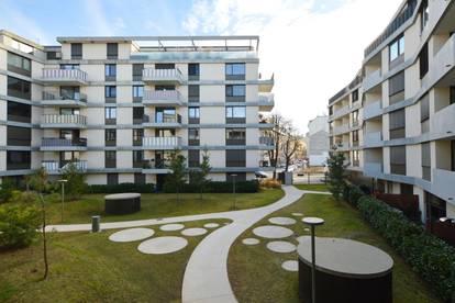 Mitten im Grünen: 3 Zi. Wohnung mit S/W Loggia