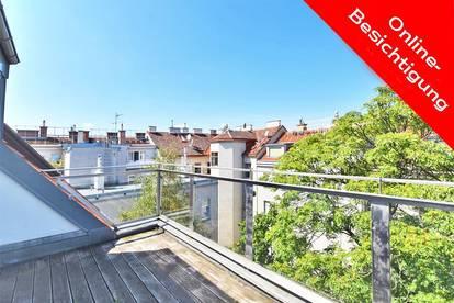 Terrassen-Maisonette mit Grünblick & Potential