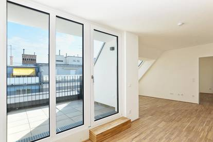 Attraktive DG-Wohnung in City-Lage