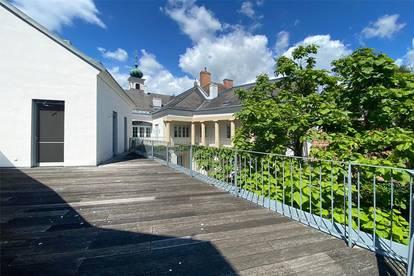 Barrierefreie Wohnung mit Terrasse