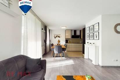 Helle 4 Zimmer Wohnung mit grossem Privatgarten