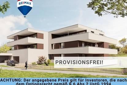 Neubau: Dachgeschoss Starterwohnung mit 3 Zi