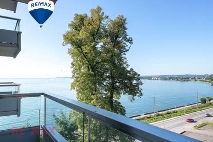 Lovely 4 Zi Wohnung mit 2 Balkonen direkt am See