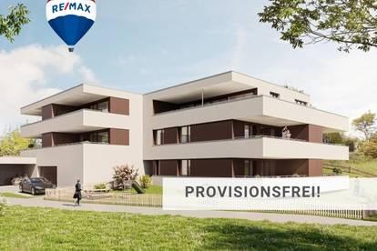Neubau: Hochwertige 3 Zi Wohnung in grüner Lage