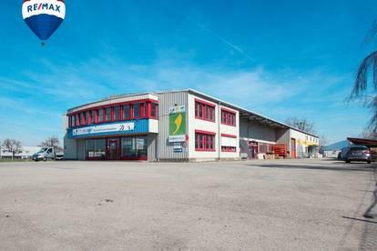 Betriebsstandort: Geschäft, Büro, Lager in Grenznähe mit bester Frequenz