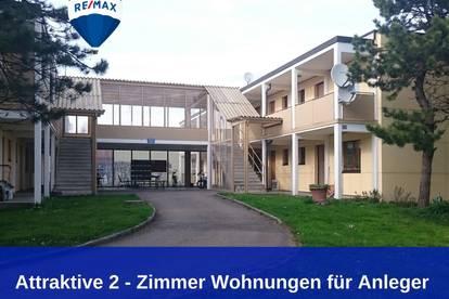 3,6% Kaufpreisrendite: Attraktive 2- Zimmer Wohnung für Anleger!