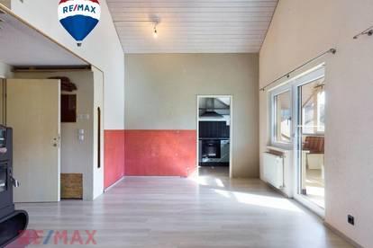 Wohntraum mit Potential - 3 Zi. Dachgeschosswohnung in Haselstauden