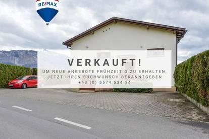 Einfamilienhaus mit grossem Garten und genügend Parkmöglichkeiten zu verkaufen in Dornbirn