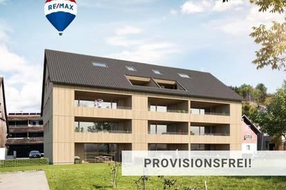 Wohnen ist Lebensfreude! Strahlende 4 Zi Neubau Wohnung in Dornbirn