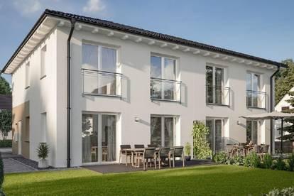 Verwirkliche dir deinen Traum vom Eigenheim - Doppelhaushälfte in Massivbauweiße