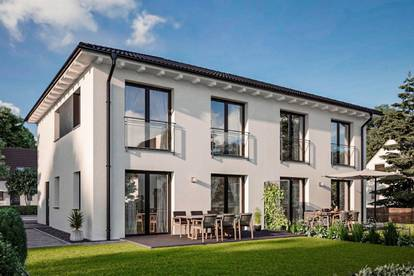 Doppelhauspartner gesucht mit traumhafter Aussicht in Rietz mit Grundstück, Haus A verkauft