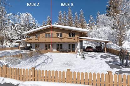 VERKAUFT!!! Neubau Chalet Doppelhaus mit Bergblick Haus B