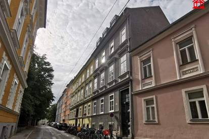 Studentenhit - Graz/St. Leonhard - Zeitlose Wertanlage mit Altbaucharakter im Souterrain