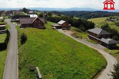 Baugrund mit Ausblick in Sankt Andrä im Sausal