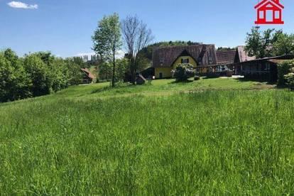 Baugrundstück mit Schlossblick in Stainz / Tomberg