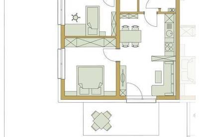 Gartenwohnung in Stainz/ Haus A Typ 3A/ Top 5