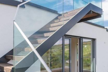 ECHTES PENTHOUSE - NEUSTIFTER TOPLAGE - 130 m² TERRASSEN, 1 WOHNEBENE - DOPPELGARAGENOPTION