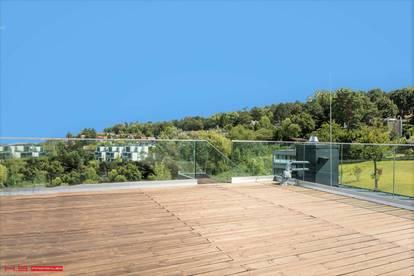 PENTHOUSE - GRANDIOSER 360° AUSBLICK 4 TERRASSEN mit 134m² 160m² WFL auf 1 WOHNEBENE KP 7900.- / m² ELITÄRES WOHNEN - HIGH END