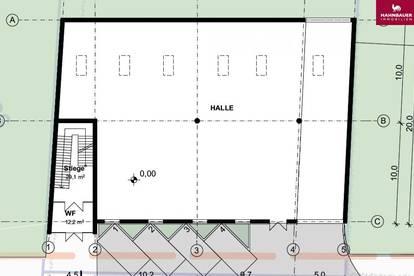 Lagerhalle in Kombination mit Büro/ Produktions-/ Schauraum, Fertigstellung 2021 in 1230 Wien