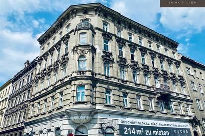 UNBEFRISTET | Büro-/Geschäftsfläche direkt an der U6 | Eckhaus
