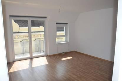 Südseitige, hochwertige 2 Zimmer Wohnung mit BALKON (Garagenplatz möglich)